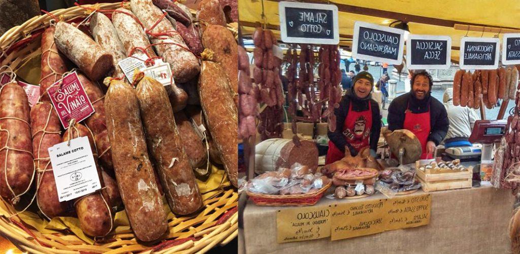 mercato nel campo siena